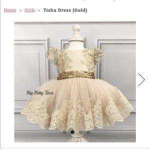 Custom ITTY BITTY TOES DRESS